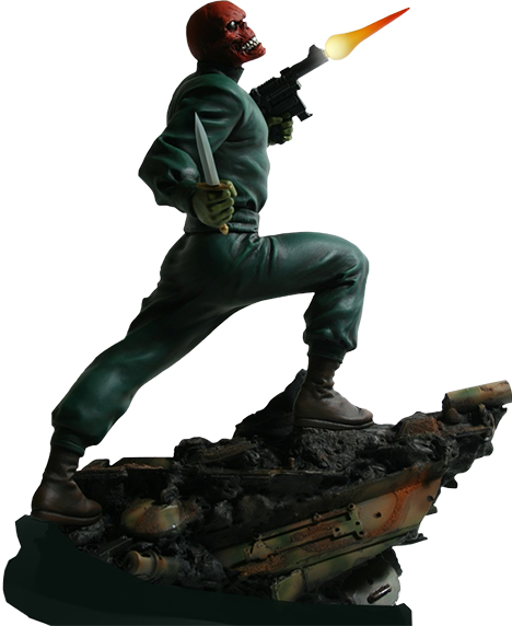 Bowen Marvel Red Skull Action Statue